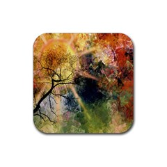 Decoration Decorative Art Artwork Rubber Square Coaster (4 Pack)  by Nexatart