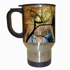 Decoration Decorative Art Artwork Travel Mugs (white)