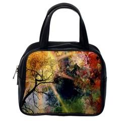 Decoration Decorative Art Artwork Classic Handbags (one Side)