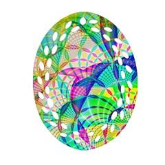 Design Background Concept Fractal Ornament (oval Filigree)