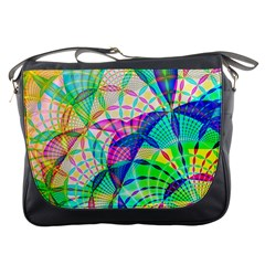 Design Background Concept Fractal Messenger Bags