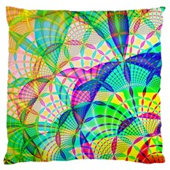 Design Background Concept Fractal Large Cushion Case (two Sides)