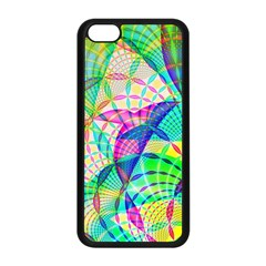 Design Background Concept Fractal Apple Iphone 5c Seamless Case (black)