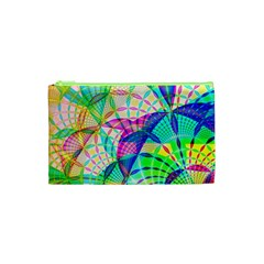 Design Background Concept Fractal Cosmetic Bag (xs) by Nexatart