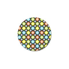 Diamonds Argyle Pattern Golf Ball Marker (10 Pack) by Nexatart