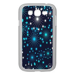 Digitally Created Snowflake Pattern Samsung Galaxy Grand Duos I9082 Case (white)
