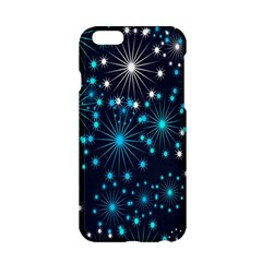 Digitally Created Snowflake Pattern Apple Iphone 6/6s Hardshell Case by Nexatart
