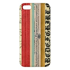 Digitally Created Collage Pattern Made Up Of Patterned Stripes Iphone 5s/ Se Premium Hardshell Case