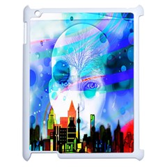 Dirty Dirt Spot Man Doll View Apple Ipad 2 Case (white)