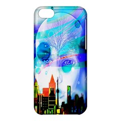Dirty Dirt Spot Man Doll View Apple Iphone 5c Hardshell Case by Nexatart