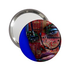 Display Dummy Binary Board Digital 2 25  Handbag Mirrors
