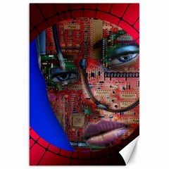Display Dummy Binary Board Digital Canvas 20  X 30   by Nexatart