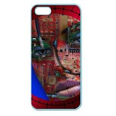 Display Dummy Binary Board Digital Apple Seamless Iphone 5 Case (color)
