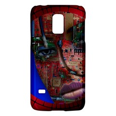 Display Dummy Binary Board Digital Galaxy S5 Mini by Nexatart