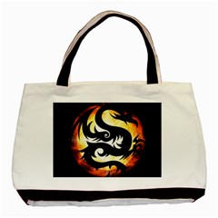 Dragon Fire Monster Creature Basic Tote Bag
