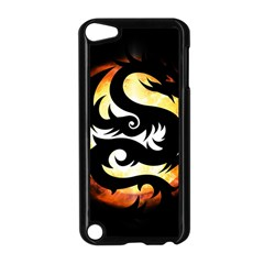 Dragon Fire Monster Creature Apple Ipod Touch 5 Case (black) by Nexatart