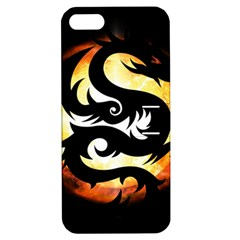 Dragon Fire Monster Creature Apple Iphone 5 Hardshell Case With Stand