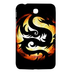 Dragon Fire Monster Creature Samsung Galaxy Tab 3 (7 ) P3200 Hardshell Case