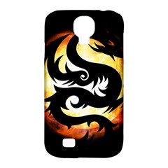 Dragon Fire Monster Creature Samsung Galaxy S4 Classic Hardshell Case (pc+silicone)