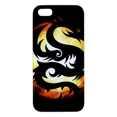 Dragon Fire Monster Creature Iphone 5s/ Se Premium Hardshell Case