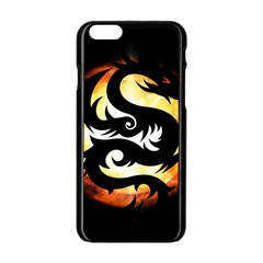Dragon Fire Monster Creature Apple Iphone 6/6s Black Enamel Case