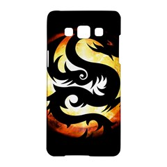 Dragon Fire Monster Creature Samsung Galaxy A5 Hardshell Case