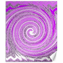 Digital Purple Party Pattern Canvas 20  X 24