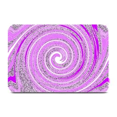 Digital Purple Party Pattern Plate Mats by Nexatart