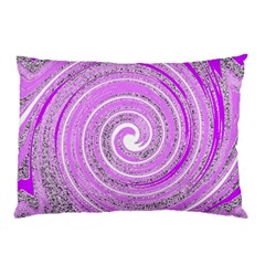 Digital Purple Party Pattern Pillow Case (two Sides) by Nexatart