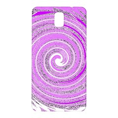 Digital Purple Party Pattern Samsung Galaxy Note 3 N9005 Hardshell Back Case
