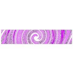 Digital Purple Party Pattern Flano Scarf (small) by Nexatart
