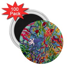 Dubai Abstract Art 2 25  Magnets (100 Pack)
