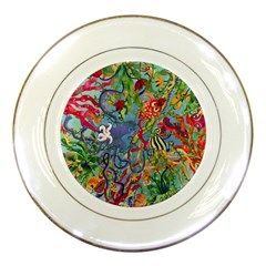Dubai Abstract Art Porcelain Plates