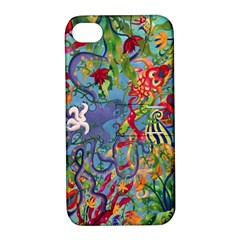 Dubai Abstract Art Apple Iphone 4/4s Hardshell Case With Stand