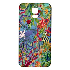 Dubai Abstract Art Samsung Galaxy S5 Back Case (white)