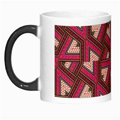 Digital Raspberry Pink Colorful Morph Mugs by Nexatart