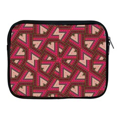 Digital Raspberry Pink Colorful Apple Ipad 2/3/4 Zipper Cases