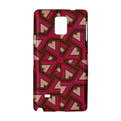Digital Raspberry Pink Colorful Samsung Galaxy Note 4 Hardshell Case by Nexatart