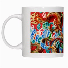 Dragons China Thailand Ornament White Mugs