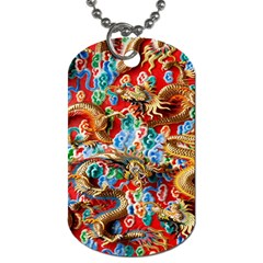 Dragons China Thailand Ornament Dog Tag (one Side)