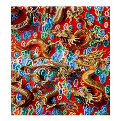 Dragons China Thailand Ornament Shower Curtain 66  x 72  (Large)
