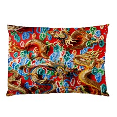 Dragons China Thailand Ornament Pillow Case (two Sides)