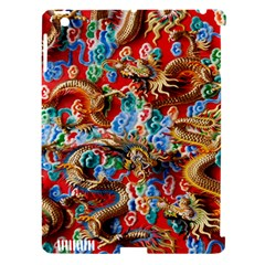 Dragons China Thailand Ornament Apple Ipad 3/4 Hardshell Case (compatible With Smart Cover)