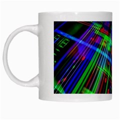 Electronics Board Computer Trace White Mugs by Nexatart
