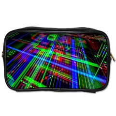Electronics Board Computer Trace Toiletries Bags 2 Side by Nexatart