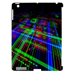 Electronics Board Computer Trace Apple Ipad 3/4 Hardshell Case (compatible With Smart Cover)