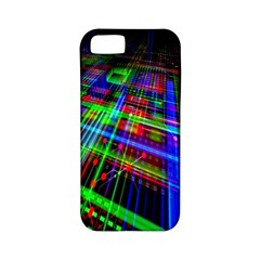 Electronics Board Computer Trace Apple Iphone 5 Classic Hardshell Case (pc+silicone)