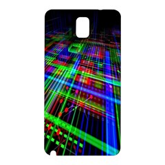 Electronics Board Computer Trace Samsung Galaxy Note 3 N9005 Hardshell Back Case