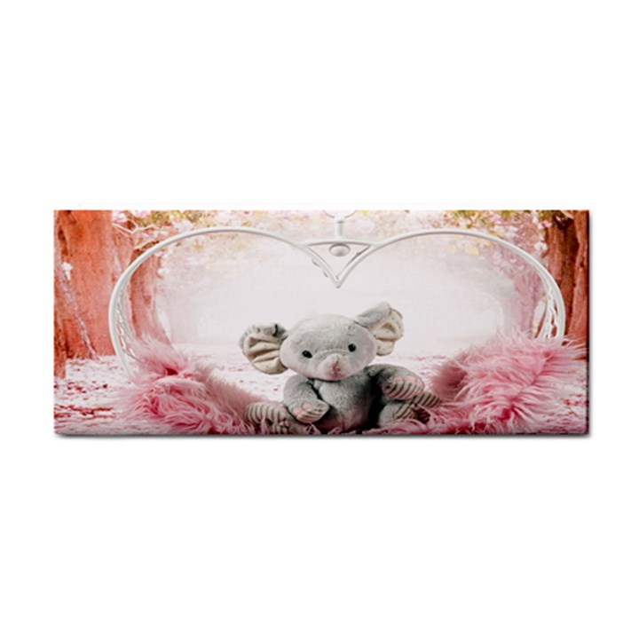 Elephant Heart Plush Vertical Toy Cosmetic Storage Cases