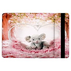 Elephant Heart Plush Vertical Toy Ipad Air Flip